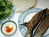 Cá ngừ ồ nướng