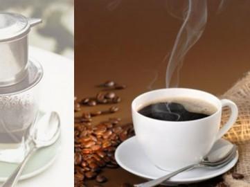 Cafe Robusta uống đường, sữa.